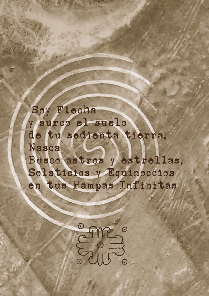 9 Poemas libres para María Reiche de Gustavo Garcia